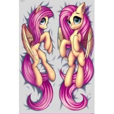Дакимакура 150х50 Флаттершай. My little Pony