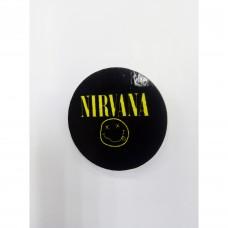 Деревянный значок Nirvana