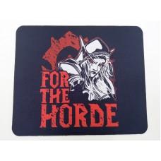 Коврик для мышки For the Horde!. Игра World of Warcraft