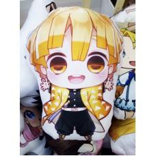 Фигурная подушка Зеницу Агацума. Аниме Клинок, рассекающий демона