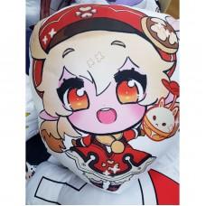 Фигурная подушка Кли. Игра Genshin impact