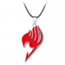 Кулон. Знак гильдии Хвост Феи (красный). Аниме Хвост Феи