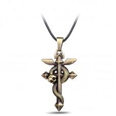 Кулон знак Фламеля. Аниме Стальной алхимик
