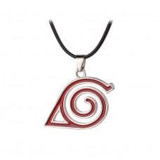 Кулон символ деревни Коноха. Аниме Наруто