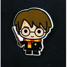 Деревянный значок Гарри Поттер