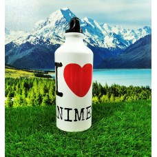 Спортивная бутылка I LOVE ANIME.