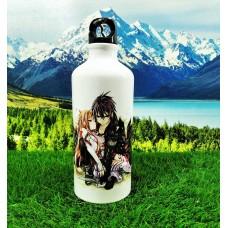 Спортивная бутылка Кирито и Асуна. Аниме Мастера меча онлайн