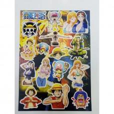 Стикер-пак One Piece №3