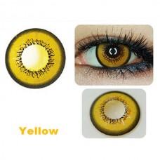 Линзы желтые