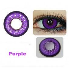 Линзы фиолетовые